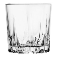 Pahar whisky, Karat 52885, din sticla, 300 ml, set 6 bucati