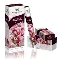 Betisoare parfumate Aroma Land, diverse arome, pachet hexagonal cu 20 bucati