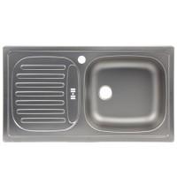 Chiuveta bucatarie inox panzat Blanco Flex Mini 512032 cuva pe dreapta 78 x 43.5 cm