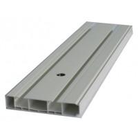 Sina perdea tavan cu 2 canale Munchen BM 2 PVC 120 cm alb