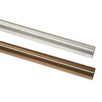 Bara galerie, metal, 20 mm, 240 cm, inox 10011135