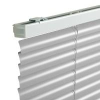 Jaluzele orizontale din aluminiu, 100 x 160 cm, argintiu