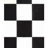 Autocolant faianta / mozaic 15-6930, alb + negru, 0.45 x 15 m