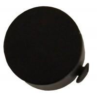 Cap galerie Endcap, 20 mm, negru 2597081511