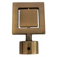 Cap galerie Nero, 16 mm, auriu antic
