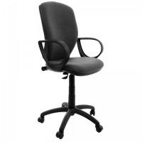 Scaun birou ergonomic Nuvola, rotativ, stofa C13, gri