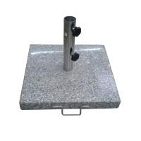Suport umbrela LW313, granit, forma patrata, 50 x 50 x 6 cm
