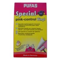 Adeziv pentru tapet vinil, interior, Pufas Special Pink Control, 200 g