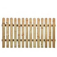 Gardulet lemn, pentru gradina, 180 x 85 cm