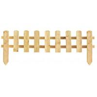 Gardulet lemn, pentru gradina, 180 x 28 (45) cm