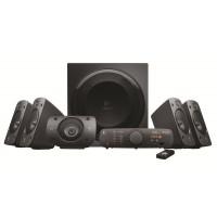 Sistem audio Logitech Z906 980-000468, 5 + 1, 500 W, 3D stereo, telecomanda, consola de control intuitiva, intrari digitale si analogice, negru
