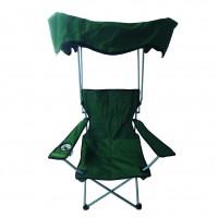 Scaun camping pliant ZR1349 structura metalica verde 84 x 52 x 85 cm