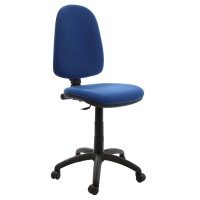 Scaun birou ergonomic Golf, rotativ, stofa C06, albastru deschis