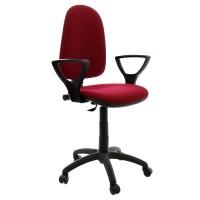 Scaun birou ergonomic Golf LX, rotativ, stofa C29, grena