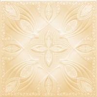 Tavan fals decorativ din polistiren C3004 clasic bej 50 x 50 x 0.3 cm