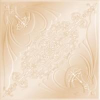 Tavan fals decorativ din polistiren C3005 clasic bej 50 x 50 x 0.3 cm