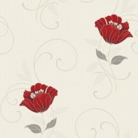 Tapet fibra textila, model floral, Grandeco Charming CF-88102, 10 x 0.53 m
