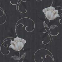 Tapet vlies, model floral, Grandeco Charming CF-88105, 10 x 0.53 m