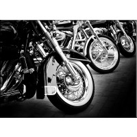 Tablou dualview DTB4073, Motociclete, canvas, 40 x 60 cm