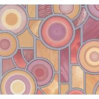 Autocolant vitraliu Gekkofix Target 10963, multicolor, 0.675 x 15 m