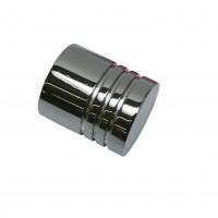 Cap galerie Chicago, cilindru, 20 mm, crom 31063