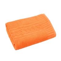 Prosop baie Enso, bumbac, portocaliu, 50 x 90 cm