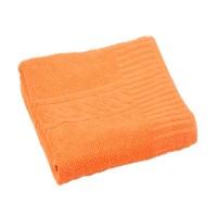 Prosop baie Enso, bumbac, portocaliu, 70 x 130 cm