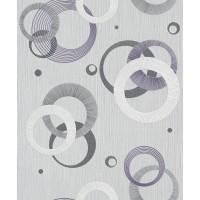 Tapet fibra textila, model geometric, Rasch Plaisir 456523, 10.05 x 0.53 m