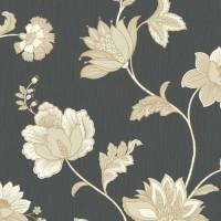 Tapet fibra textila, model floral, Grandeco Jacobean 41301, 10 x 0.53 m