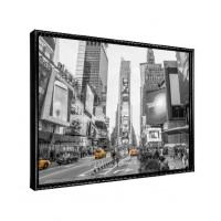 Tablou Decorbox DB00646, inramat, panza canvas + rama MDF, stil modern, 50 x 70 cm