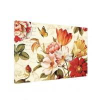 Tablou C00935, compozitie cu flori, canvas + sasiu brad, 60 x 90 cm