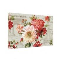 Tablou C01457, compozitie cu flori, canvas + sasiu brad, 60 x 90 cm