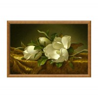 Tablou TI01876, compozitie cu flori, canvas + rama MDF, 50 x 80 cm