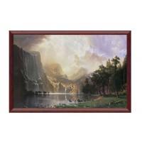 Tablou TI01876, peisaj, canvas + rama MDF, 50 x 70 cm