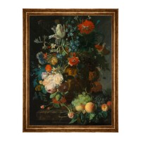 Tablou C01929, natura moarta, canvas + rama MDF, 60 x 80 cm