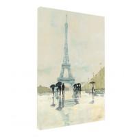 Tablou, Turnul Eiffel, canvas + sasiu brad, 40 x 60 cm