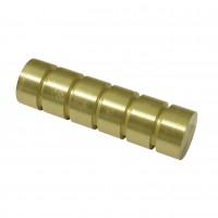 Cap galerie Chicago Sari, 20 mm, auriu mat 31494