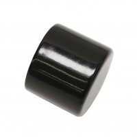 Capac lateral galerie Chicago 33176, 20 mm, negru