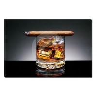 Tablou dualview DTB6718, Whiskey, canvas, 60 x 90 cm