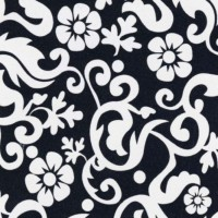 Autocolant decorativ, alb + negru, Patifix 15-6485, 0.45 x 15 m