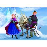 Fototapet copii duplex Disney Frozen 827P4 254 x 184 cm