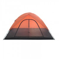 Cort camping, 4 persoane, WR3182 poliester, 360 x 240 x 180 cm