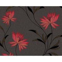 Tapet hartie, model floral, AS Creation Atlanta 957202, 10 x 0.53 m