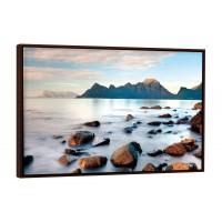 Tablou Canbox CB00479, peisaj, canvas + rama MDF, 60 x 90 cm