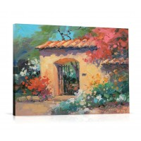 Tablou C01537, peisaj, canvas + rama MDF, 60 x 80 cm