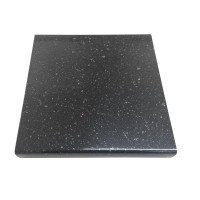 Blat bucatarie Martplast Galaxy, PAL, finisaj granit negru, 3.8 x 60 x 400 cm