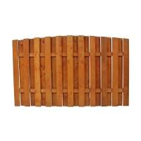Gard lemn, Rustic, pentru gradina, solid, 180 x 110 cm
