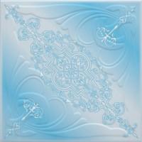 Tavan fals decorativ din polistiren C3005 clasic albastru 50 x 50 x 0.3 cm
