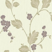 Tapet netesut, model floral, Grandeco Bella BOC-09-04-6 10 x 0.53 m