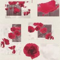 Tapet vinil, model floral, Rasch Aqua Relief IV 853308, 10 x 0.53 m